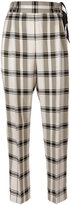 3.1 Phillip Lim check trousers - women - Silk/Viscose - 2