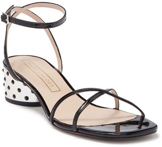 Marc Jacobs Sybil Crystal Embellished Block Heel Sandal