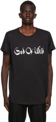 Ann Demeulemeester SSENSE Exclusive Black God of Wild Fine T-Shirt