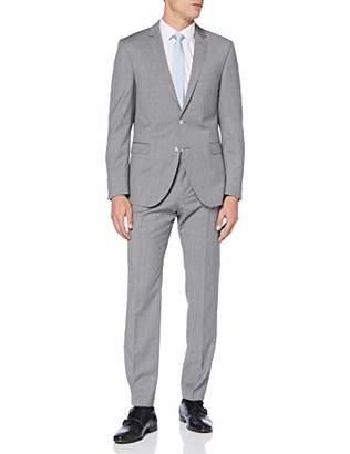 Strellson Premium Men's Rick-Jans Suit, (Grey 045), (Size: 54)