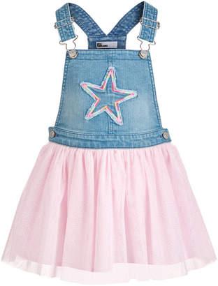 Epic Threads Little Girls Denim Star Skirtalls