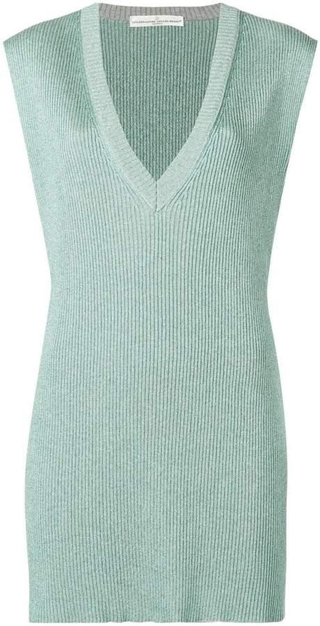 Golden Goose v-neck sparkle sweater