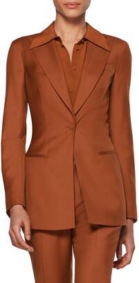 SUISTUDIO Sabrina Single Breasted Suit Jacket