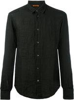 Barena slim-fit shirt - men - Linen/Flax - 48