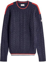 Moncler Pullover with Wool and Alpaca