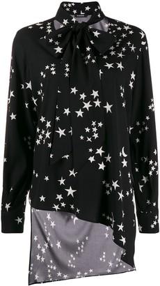 P.A.R.O.S.H. Star Print Bow Tie Shirt