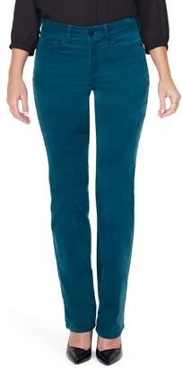 NYDJ Marilyn Straight Leg Corduroy Pants