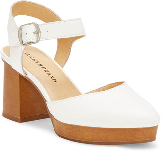 Lucky Brand Rhyme Platform Sandal