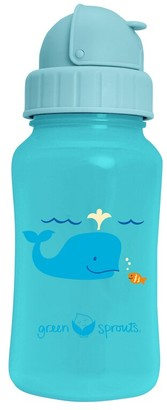 Green Sprouts Straw Bottle - Aqua