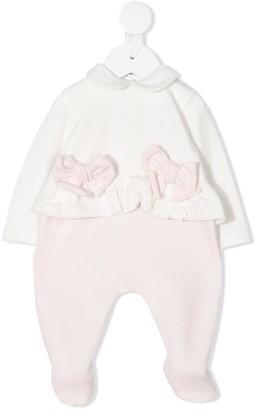 Le Bebé Enfant Bow-Detail Pajamas