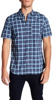 Jeremiah Dalton Plaid Short Sleeve Regular Fit Shirt
