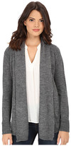 Splendid Lurex Rib Cardigan