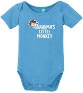 Sod Uniforms Grandmas Little Monkey Onesie Funny Bodysuit Baby Romper