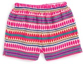 Girl's Peek Mexico Embroidered Shorts