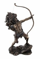 Private Label Hercules Shooting Arrow Statue Sculpture Greek Myth