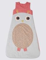 Marks and Spencer Pure Cotton Tog 2.3 Owl Sleeping Bag