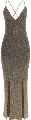 Ganni Glitter Knit Dress