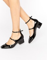 Raid RAID Alexus Ankle Strap Mid Heeled Shoes