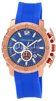 Vince Camuto Mens Rose Goldtone Chronograph Watch