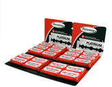 Personna Stainless Steel Double Edge Blades - 100 Pack by 100 Razor Blades)