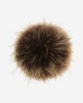 N.Peal Raccoon Fur Detachable Pom