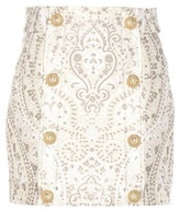Balmain Jacquard Miniskirt