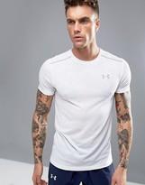 Under Armour Streaker Run T-shirt In White 1271823-100