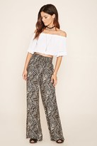 Forever 21 FOREVER 21+ Paisley Palazzo Pants