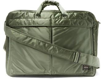 Porter-Yoshida & Co Tanker 3way Briefcase - Green