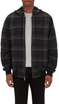Public School MEN'S PLAID HOODED JACKET