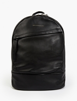 WANT Les Essentiels Black Leather 'Kastrup' Backpack