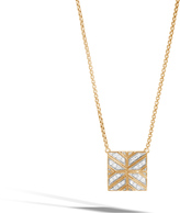 John Hardy Women's Modern Chain Pendant Necklace in 18K Gold with Diamonds