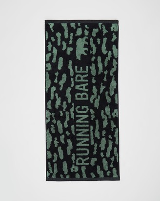 Running Bare It's A Jungle Out There Gym Towel