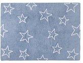 Lorena Canals Estrellas Washable Rug (Blue) by Lorena Canals