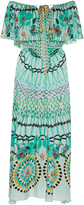 Temperley London Dream Catcher Off the Shoulder Dress