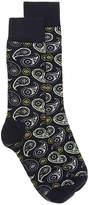 Happy Socks Men's Paisley Dress Socks