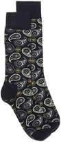 Happy Socks Paisley Dress Socks - Men's