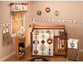 NoJo Jungle Tails 7pc Infant Crib Bedding Set