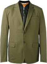 Givenchy bomber layer blazer jacket - men - Cotton/Polyamide - 50