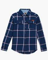 7 For All Mankind Boys S-Xl Button Up In Denim Plaid