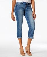 Project Indigo Juniors' Embellished Straight-Leg Jeans