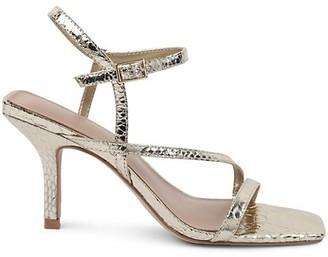 BCBGeneration Millani Snakeskin Sandals