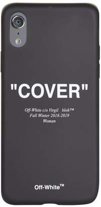 Off-White Cover Quote iPhone X Case