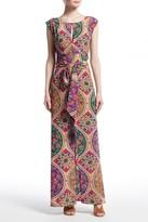 Calypso St. Barth Enara Printed Stretch Silk Dress