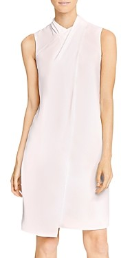 Halston Mock Neck Cocktail Dress