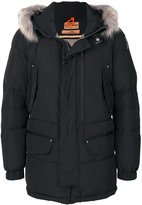 Parajumpers furry trim hooded coat