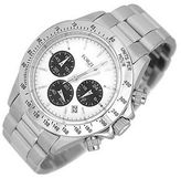 Forzieri Porto Cervo White Dial Chronograph Watch