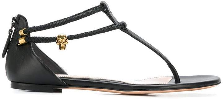 Alexander McQueen zipped sandals