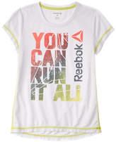 Reebok Girls' Run It All Tee