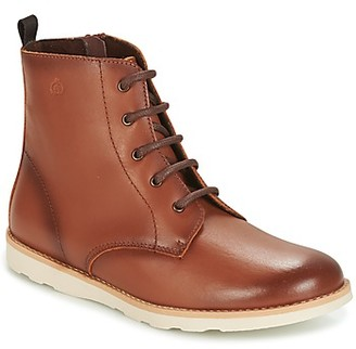 Citrouille et Compagnie HATINE girls's Mid Boots in Brown